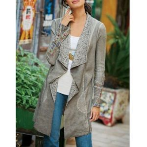 Soft Surroundings Cadence Topper Cardigan